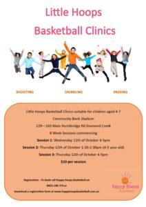 Little Hoops Basketball for kids