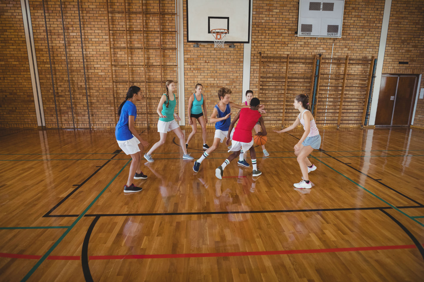 sports clinics for home schooling